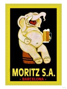Los carteles publicitarios de Moritz: un clásico